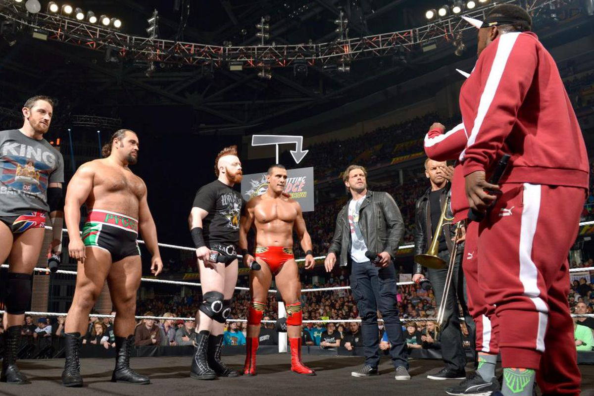 New Day League Of Nations And The Wwe Tag Team Division Cageside Seats