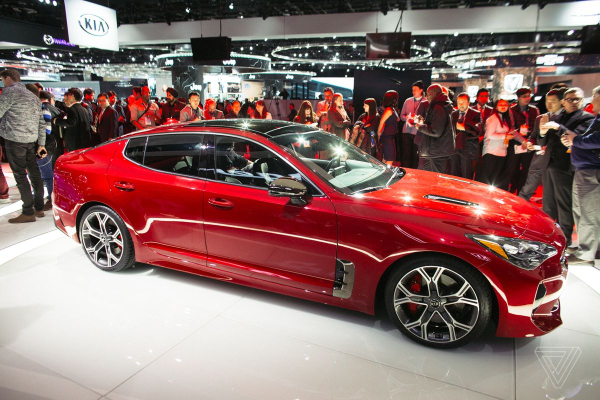 The Kia Stinger Is A Sports Sedan That Sizzles In A Sea Of Practical