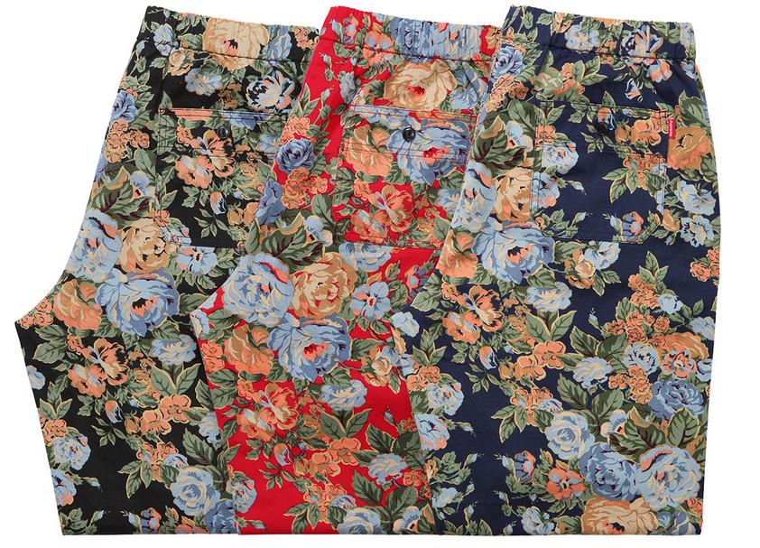 supreme floral pants new