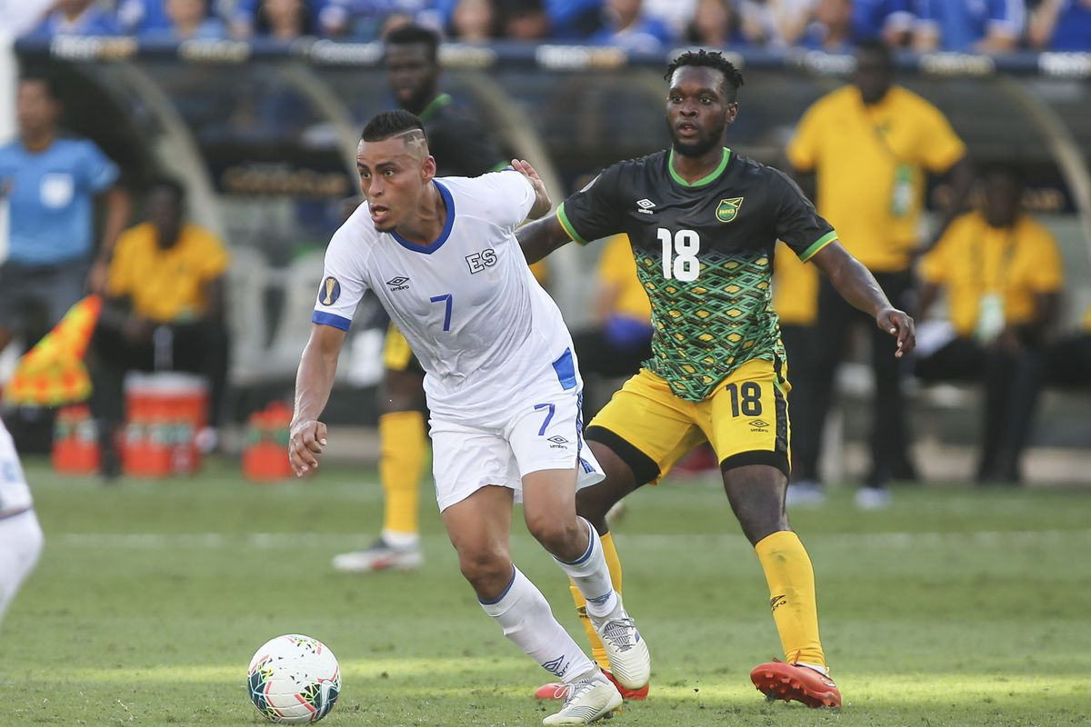 Soccer: CONCACAF Gold Cup-El Salvador at Jamaica