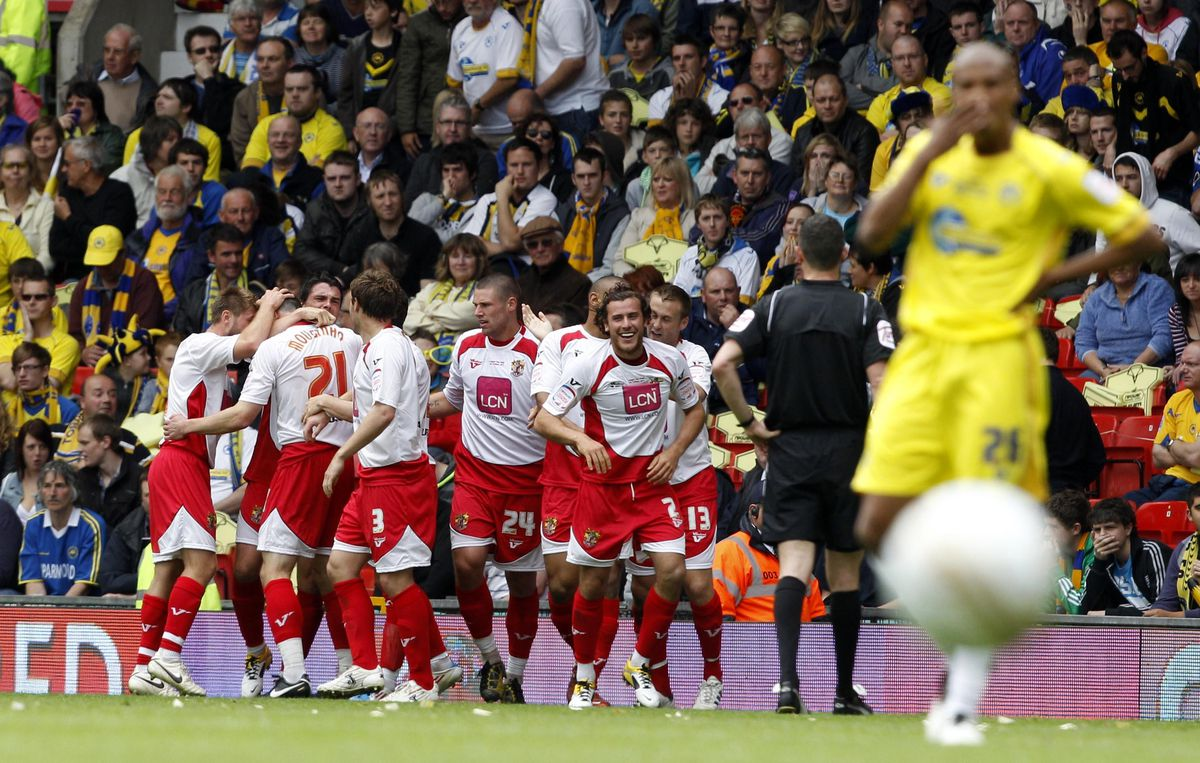 Soccer - npower Football League Two - Play Off - Final - Stevenage v Torquay United - Old Trafford