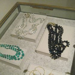 Joan Hornig piano key necklaces, (Joan donates 100% of her profit to the charity of the purchaser's choice)