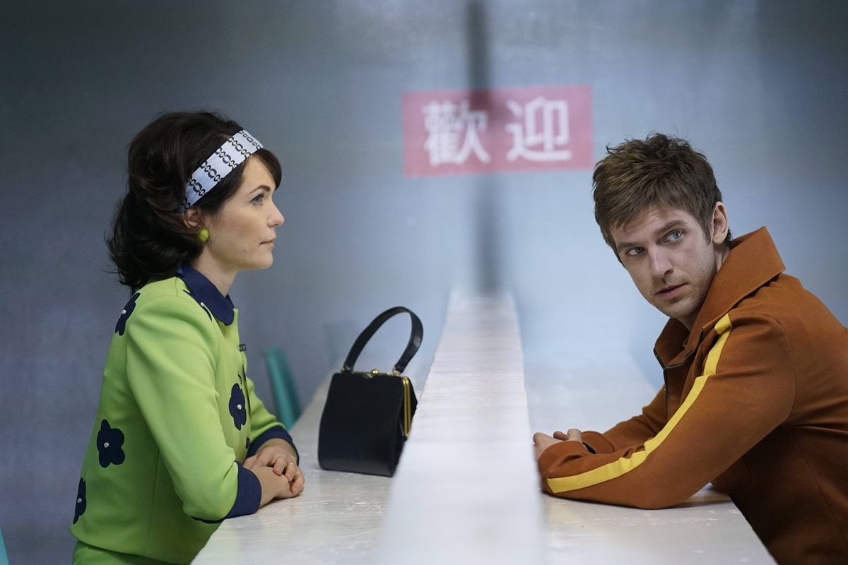 Legion - David Haller and woman