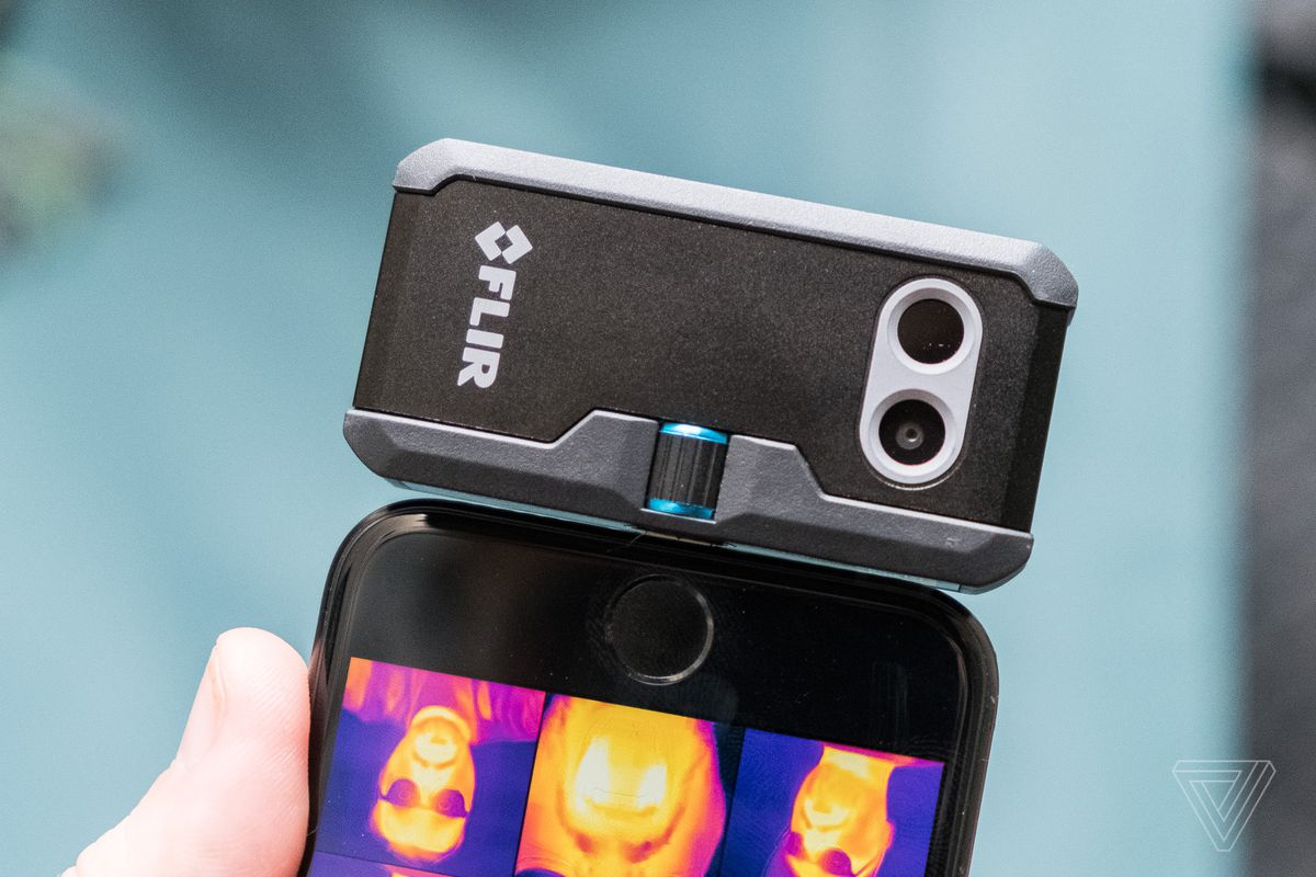 Flir's new smartphone thermal cameras double the detail ...