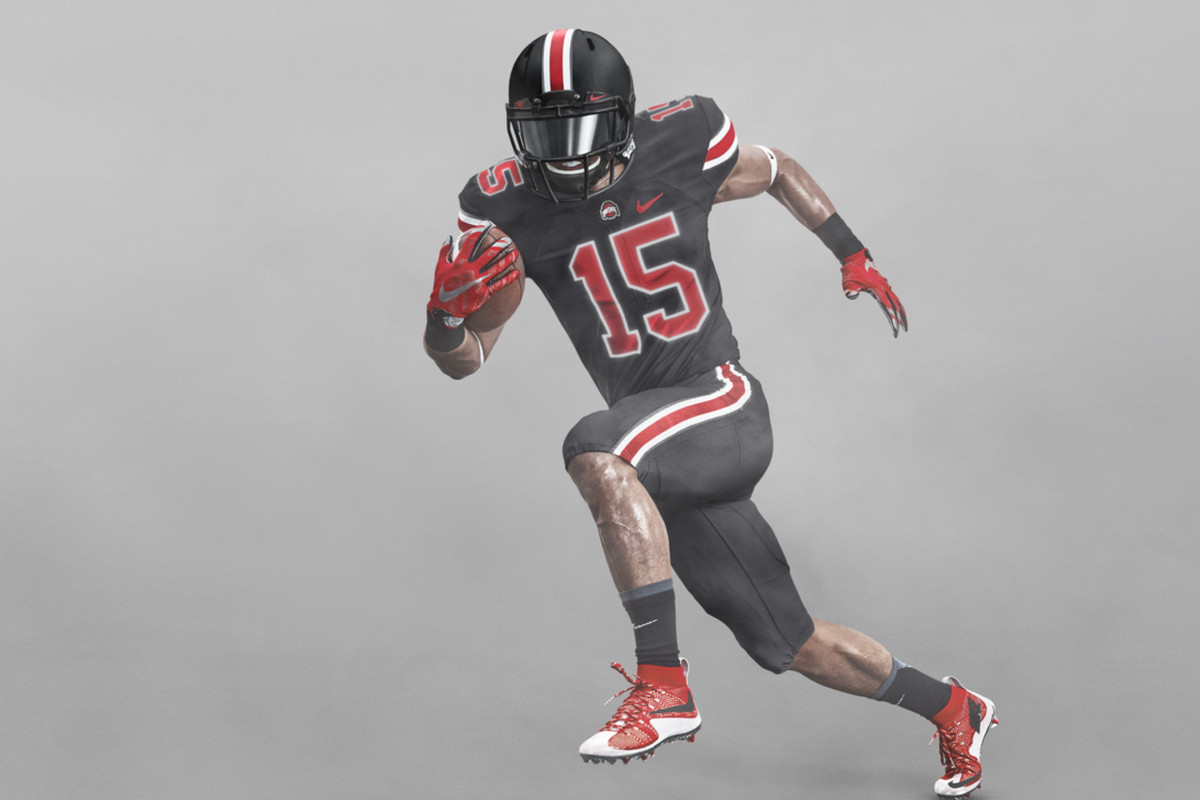ohio state black out jersey