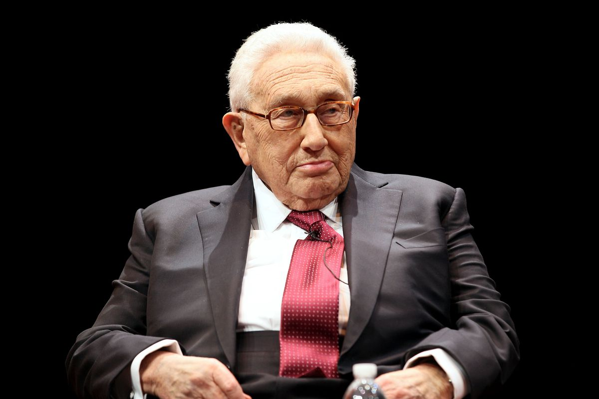 The Obama Administration Is Honoring Henry Kissinger Today