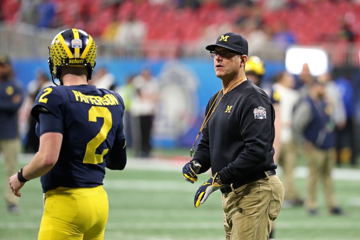 Michigan Jim Harbaugh's first press conference