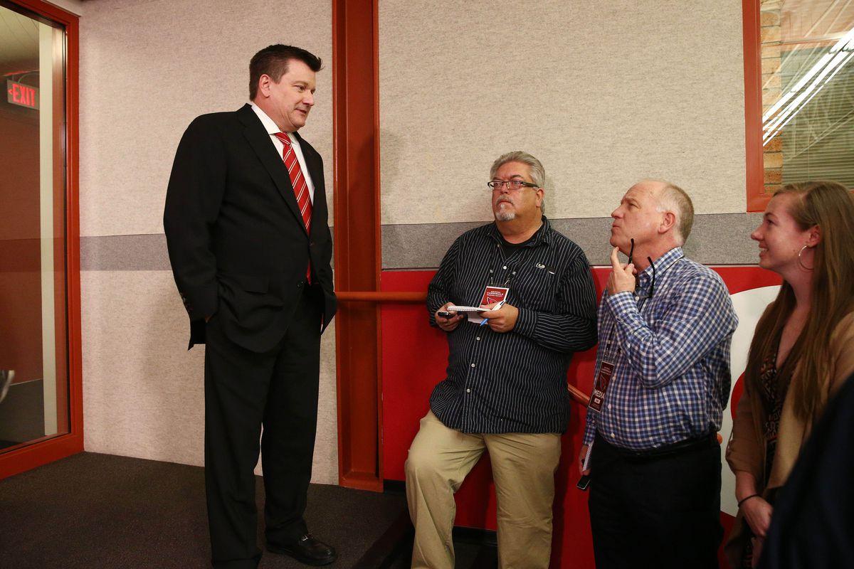 NFL: Arizona Cardials- Kliff Kingsbury Press Conference