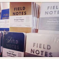 Field Notes // $10 for a pack of 3