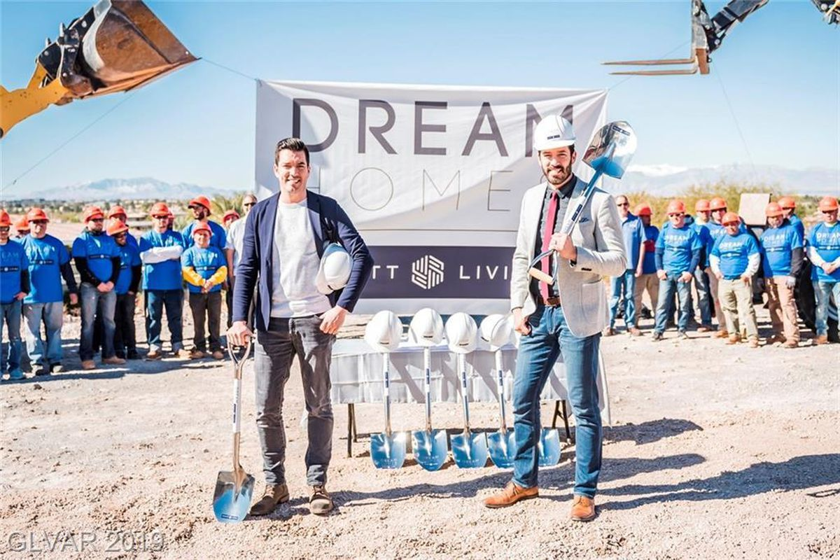 Property Brothers at construction site