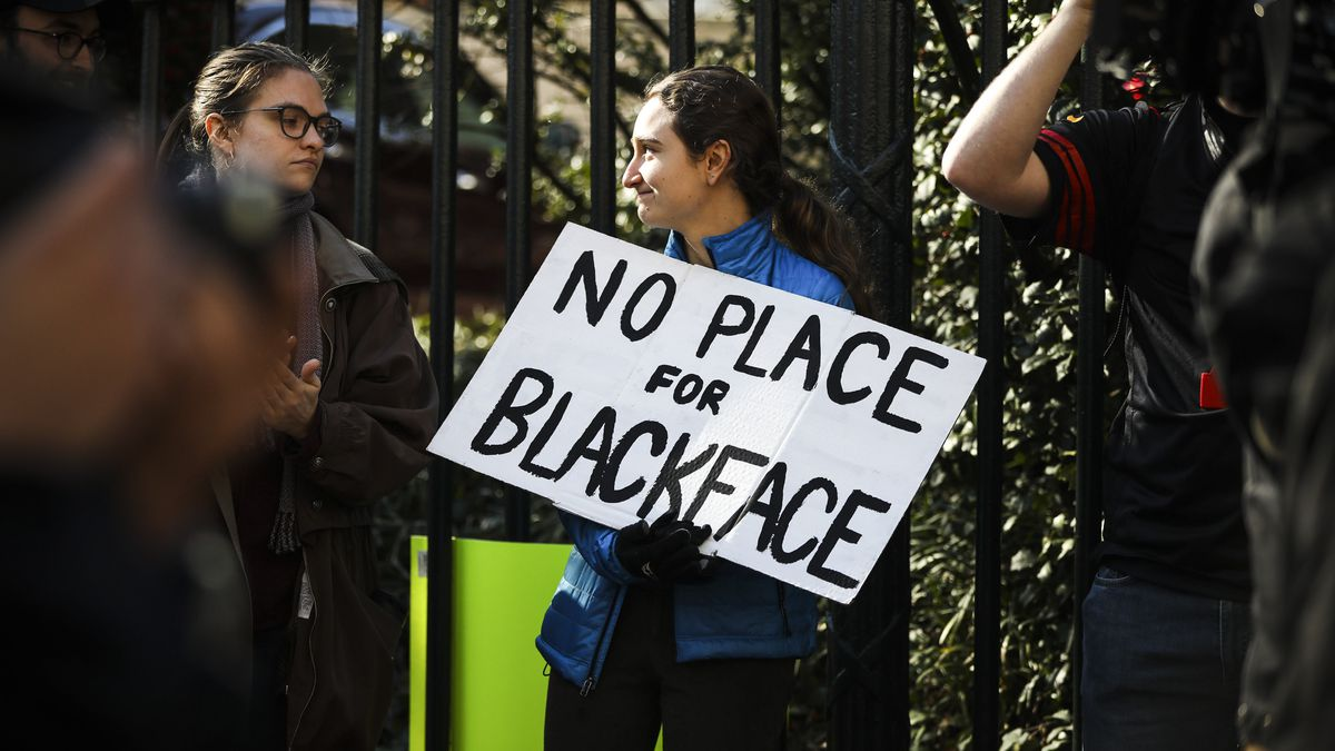 Blackface scandals highlight a racist practice that