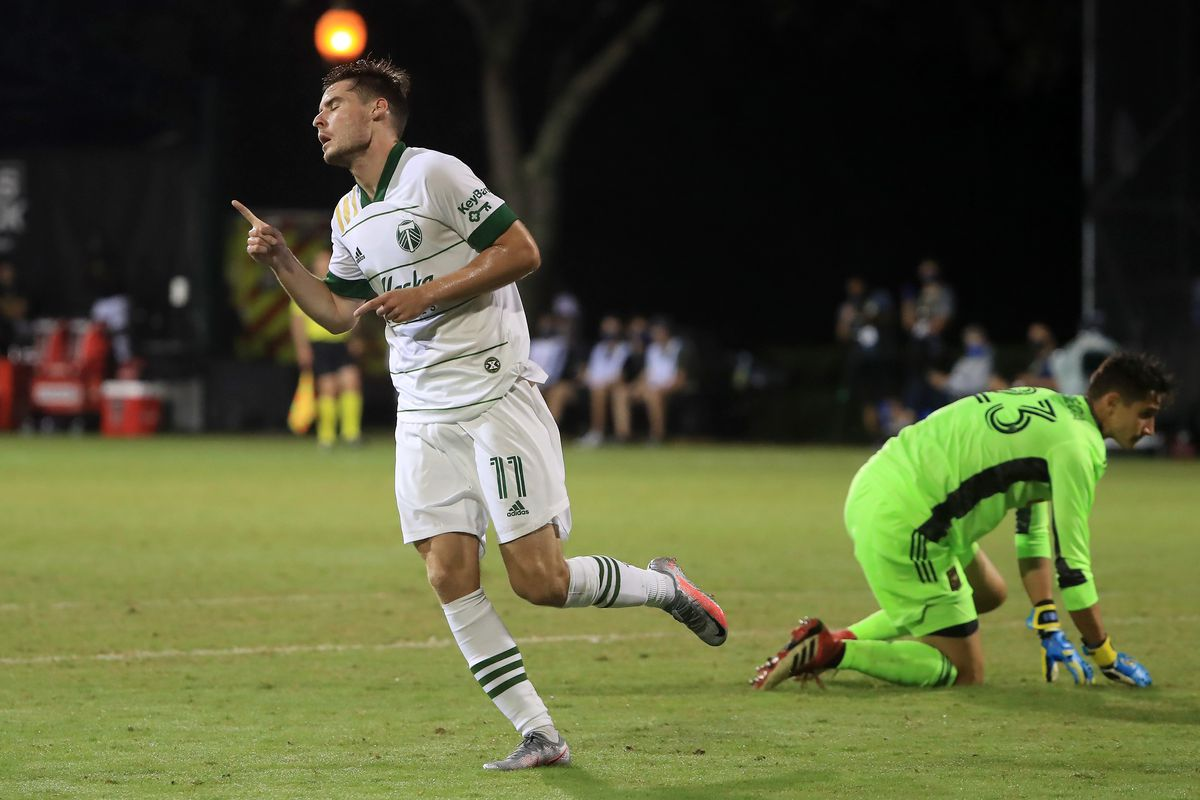 Los Angeles FC v Portland Timbers - MLS Is Back Tournament