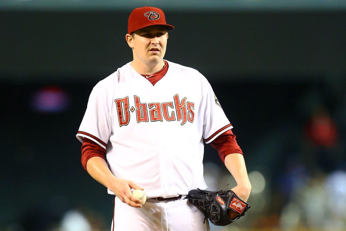 The newest member of the Atlanta Braves rotation, Trevor Cahill.