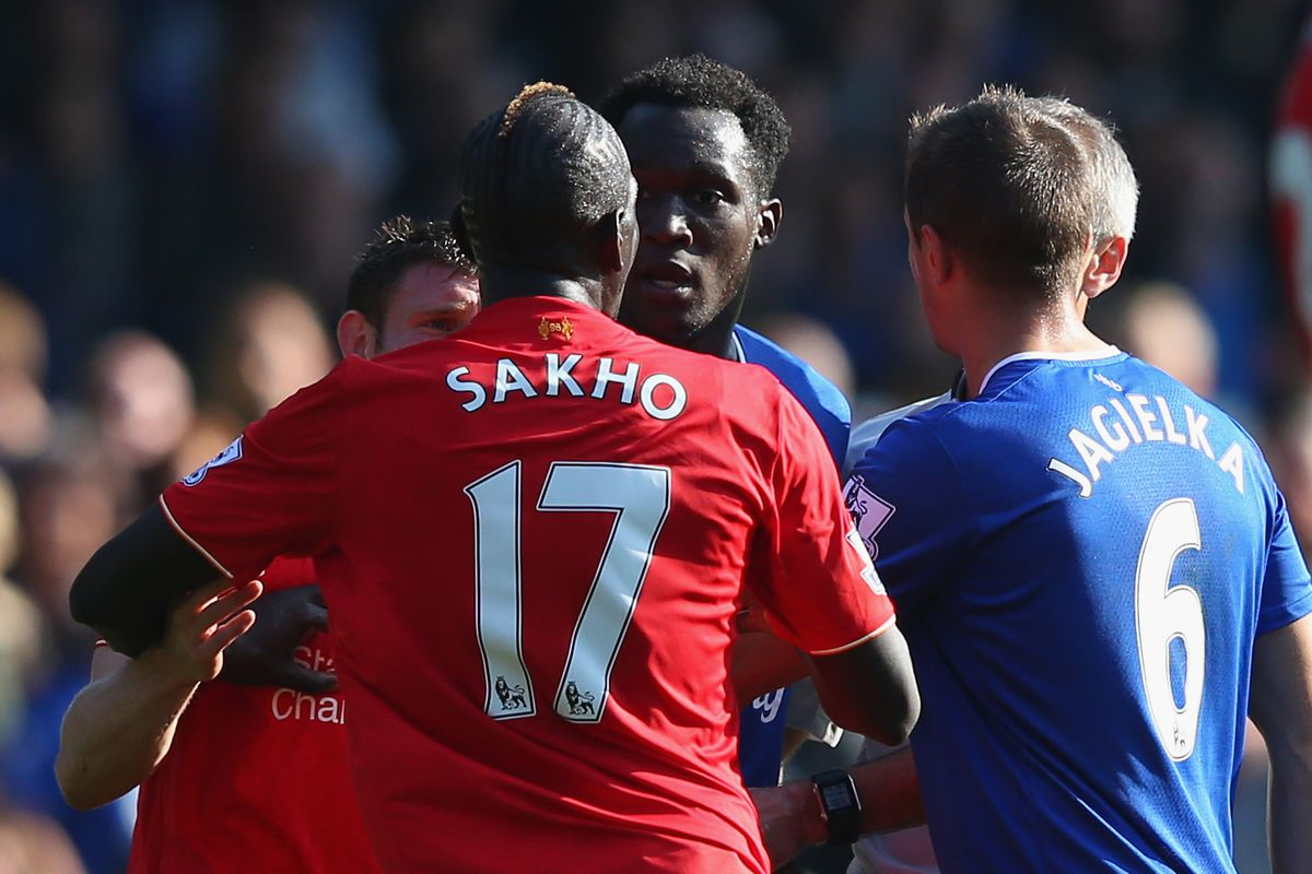 You can't see Sakho's face yet you know exactly what it looks like in this moment.