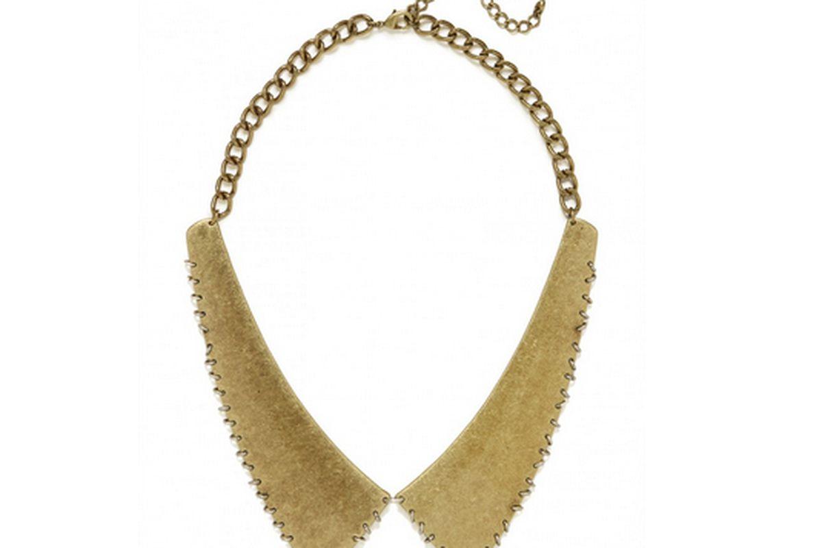 """Image via <a href=""""http://www.baublebar.com/luv-aj-pierced-plate-collar.html"""">BaubleBar</a>"""