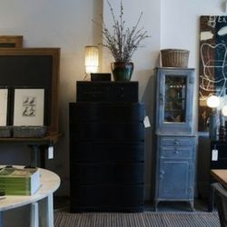 """""""<a href=""""http://scoutchicago.com/"""">Scout</a> [5221 North Clark Street] is another favorite home decor store of mine. Shop owner Larry Vodak constantly stocks his store with the coolest furniture and home accents. I have my eye on their vintage signs, whi"""