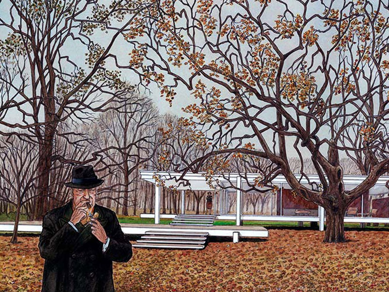 Graphic novel depicts the life of Mies van der Rohe