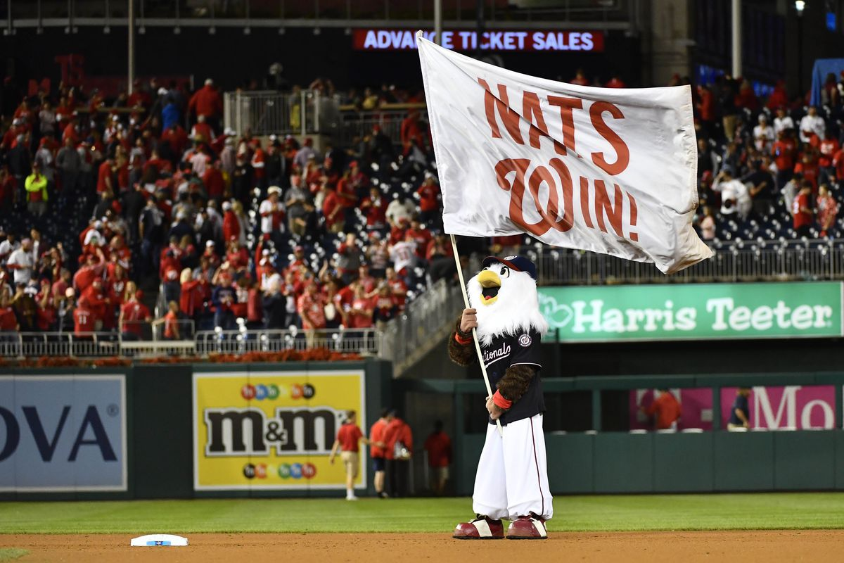 Sabermetrics news: The Nationals are a win away from the World Series