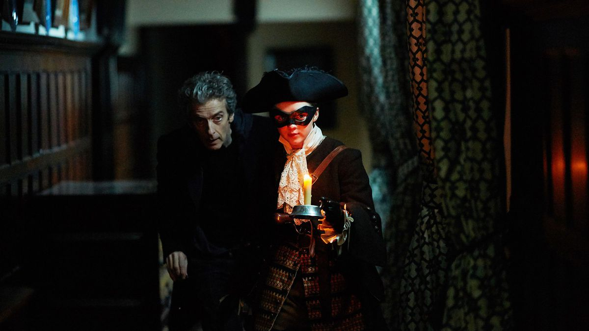 The Doctor and Ashildr go housebreaking