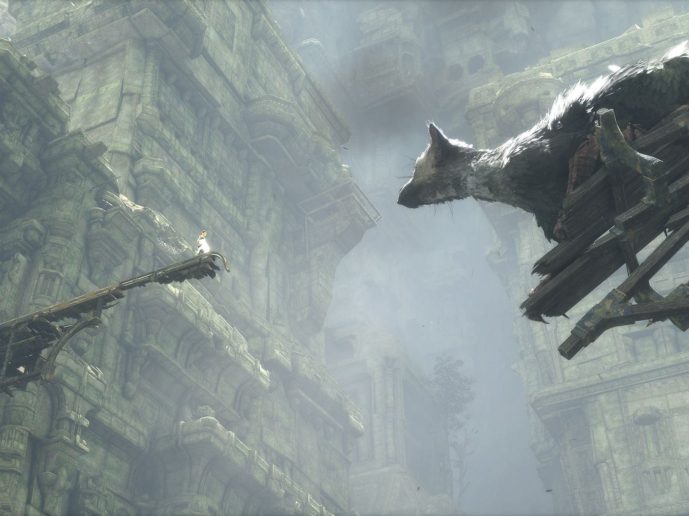 Polygon S 2016 Games Of The Year 10 The Last Guardian Polygon