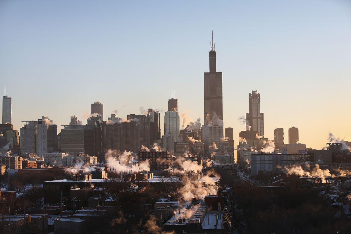 Another Extreme Cold Front Moves Through Midwest