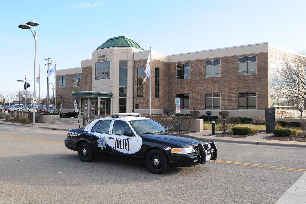A person turned themselves in to police after a standoff March 20, 2021, in Joliet.