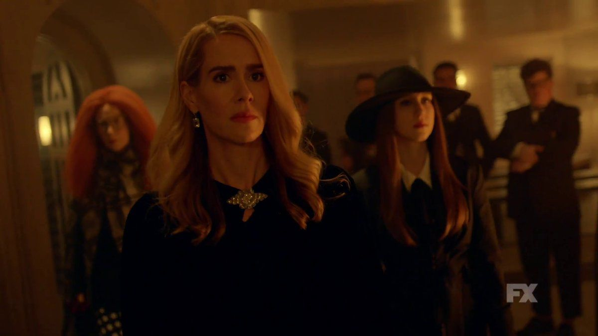 a group of witches from American Horror Story: Coven as they appear in Apocalypse