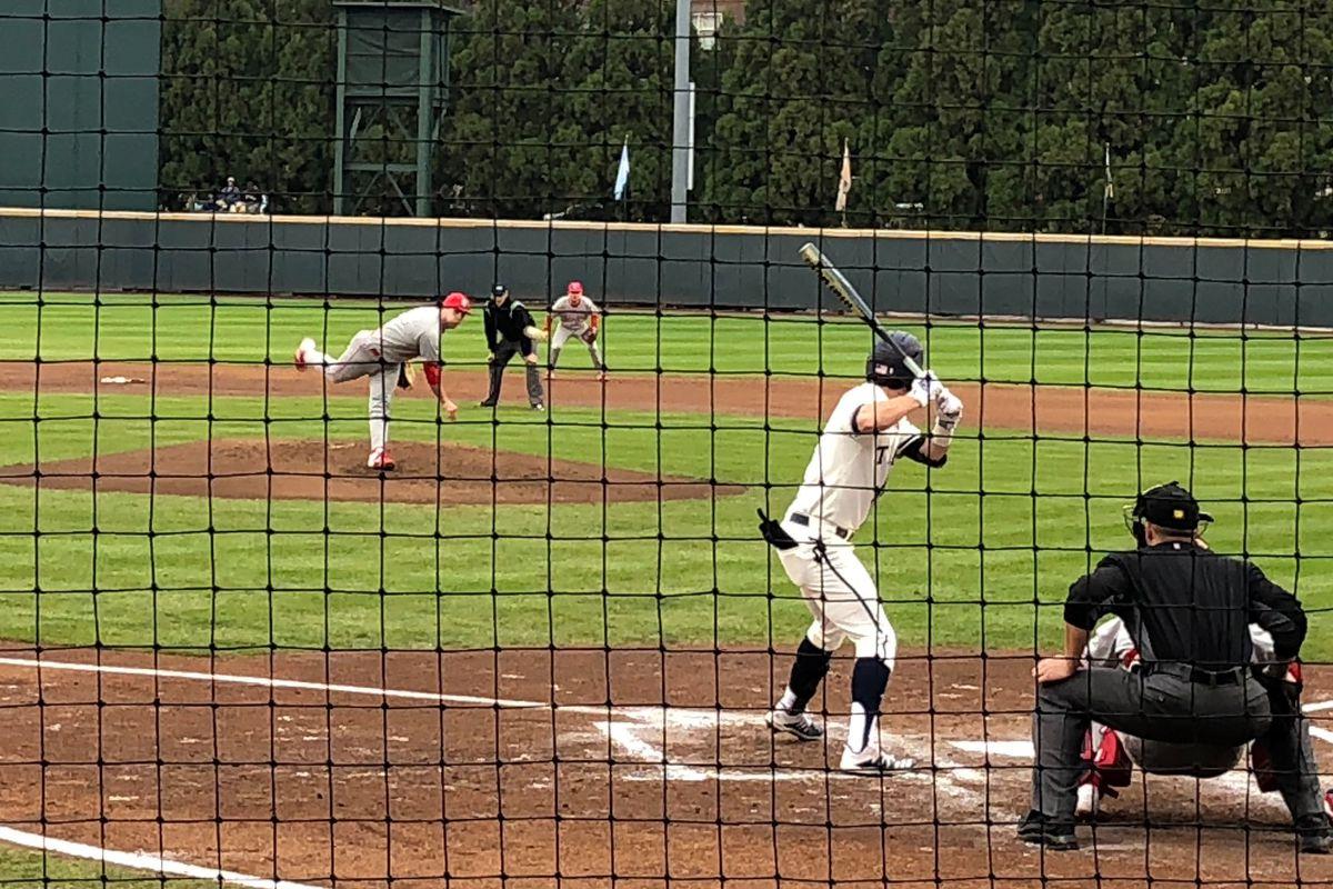 Michael Guldberg steps in for Georgia Tech baseball.