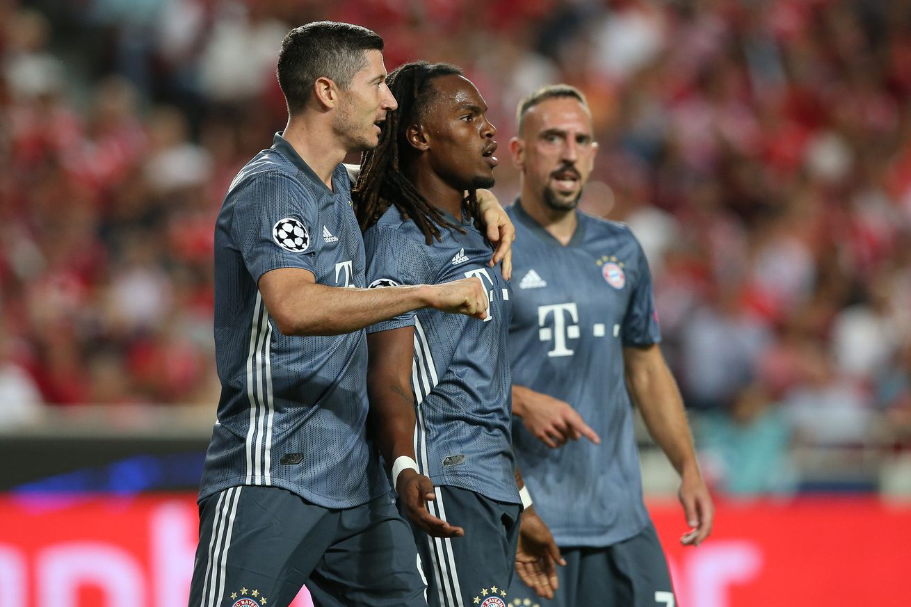 Match awards from Bayern?s 2-0 victory over Benfica
