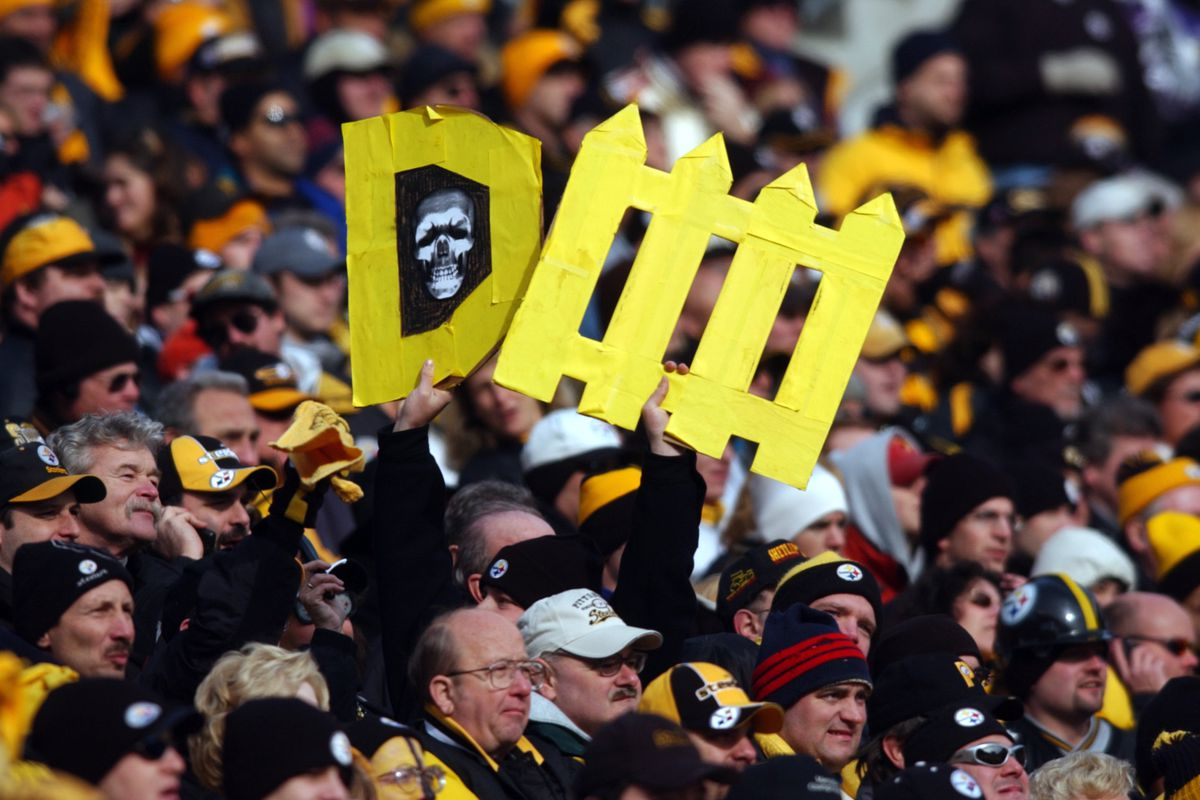 Ravens v Steelers X