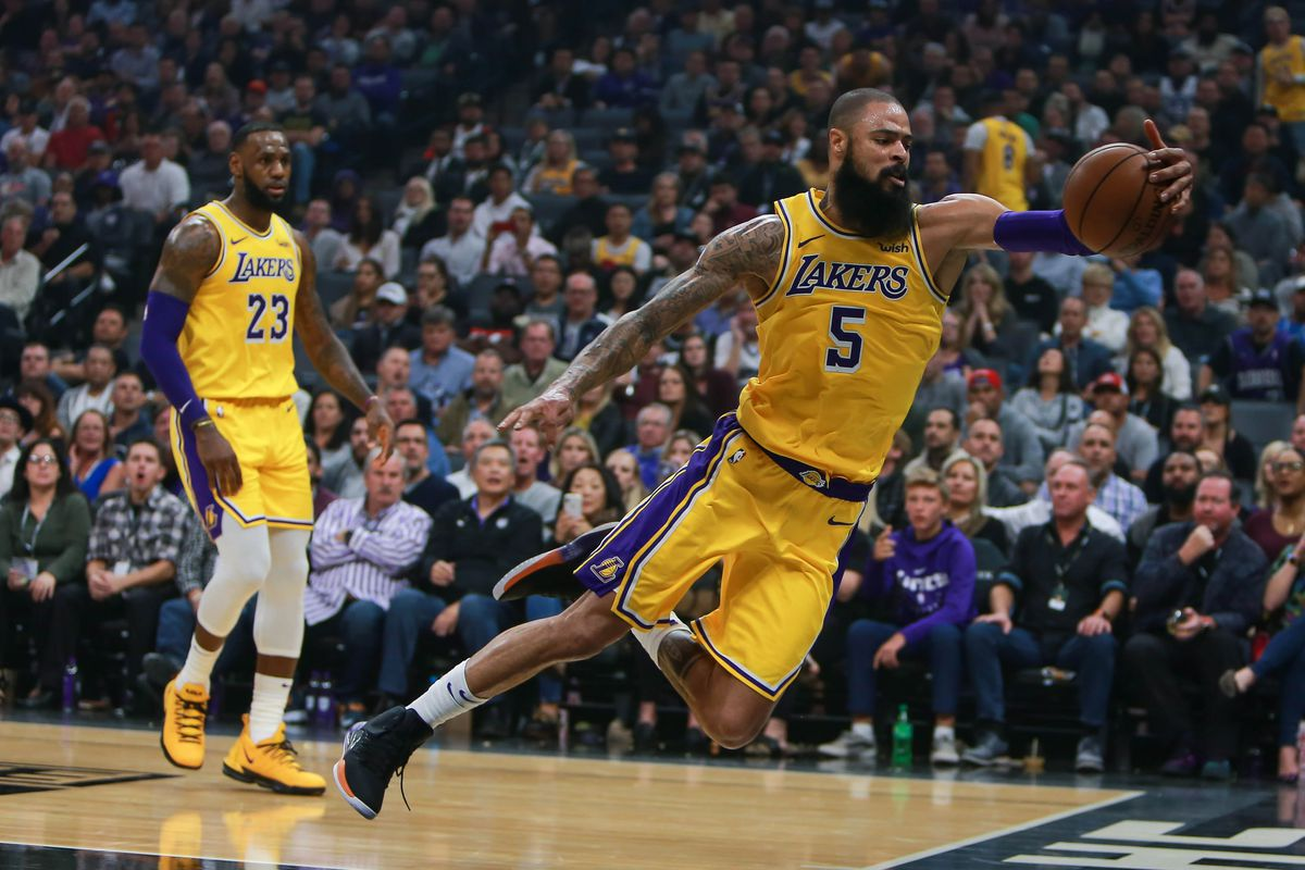 8096105a2 LeBron James and JaVale McGee are loving what Tyson Chandler has brought to  the Lakers