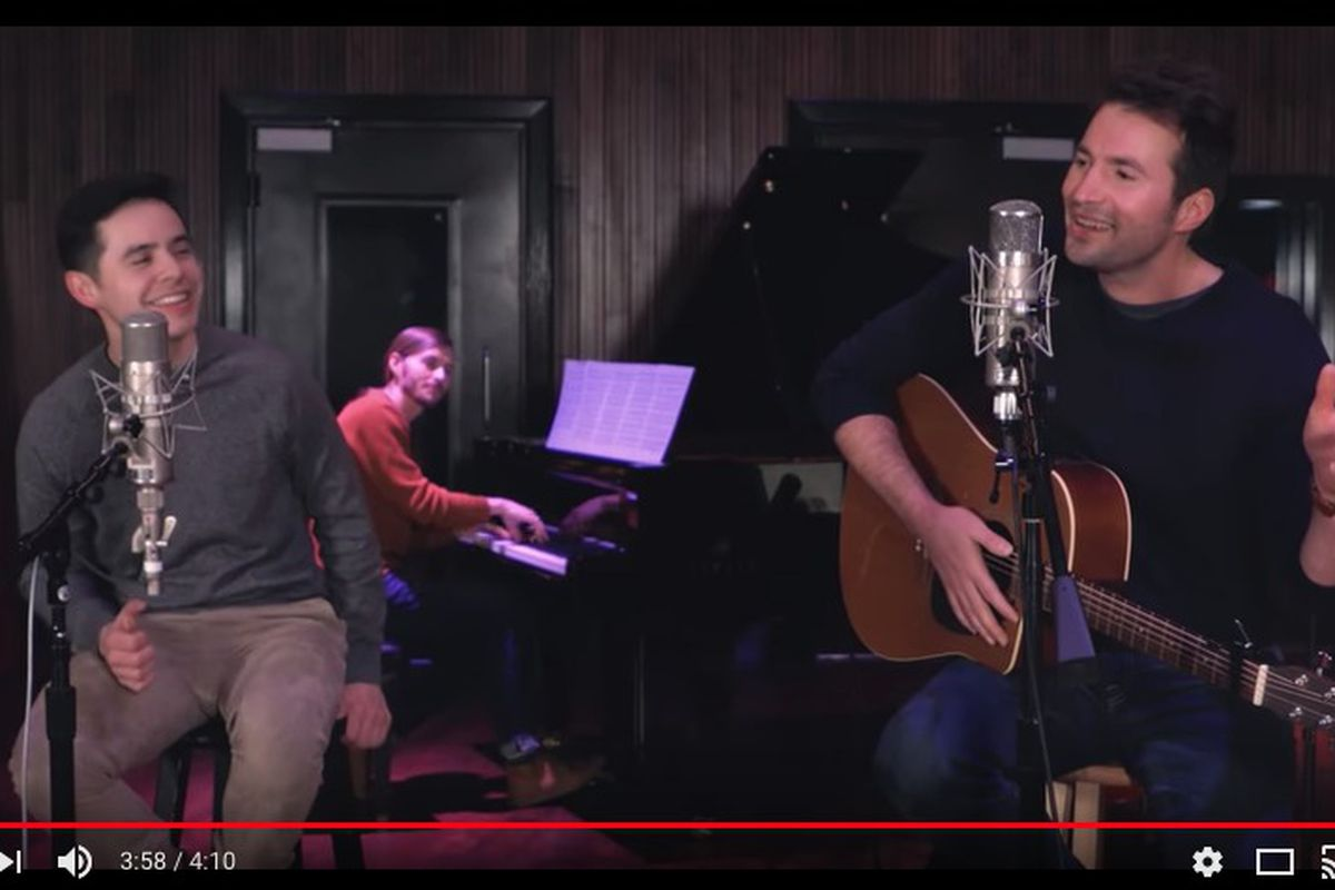 David Archuleta, Nathan Pacheco release cover of Ed