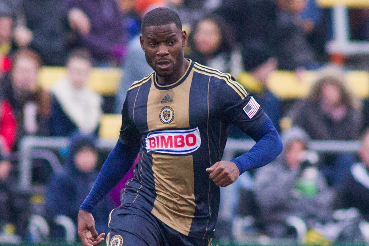 Maurice Edu is on loan from Stoke City, and is a Designated Player for Philadelphia
