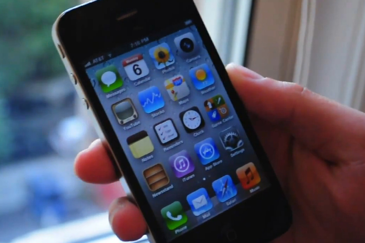 iOS 5 demo on the iPhone 4
