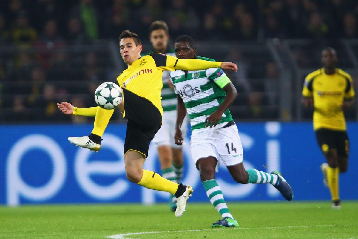 Borussia Dortmund v Sporting Clube de Portugal - UEFA Champions League