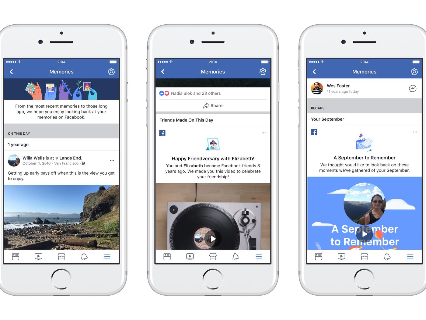 Facebook is launching a new memories page to remind you of the days