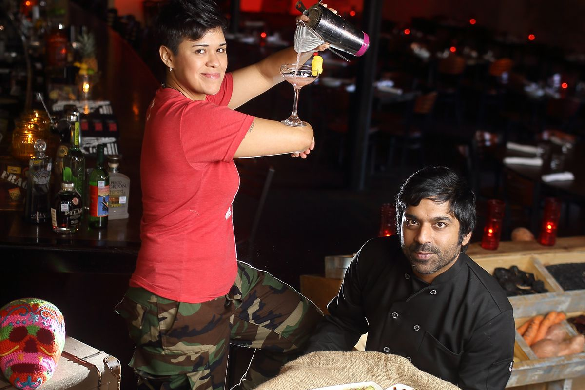 Jojo Martinez (l) and Rishi Singh (r) step into new roles at Batanga in downtown Houston.