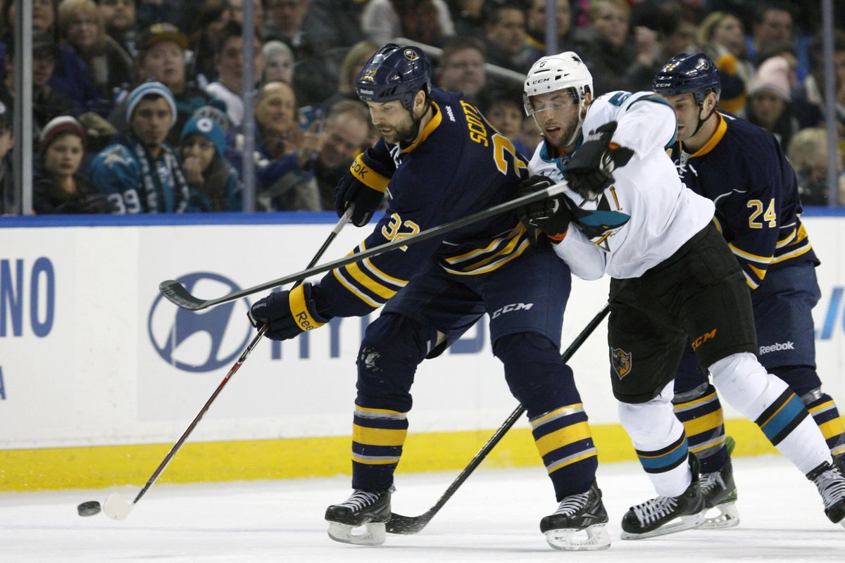 John Scott is my fantasy sleeper. On the Sharks, I project he ties his career high: 2 points.