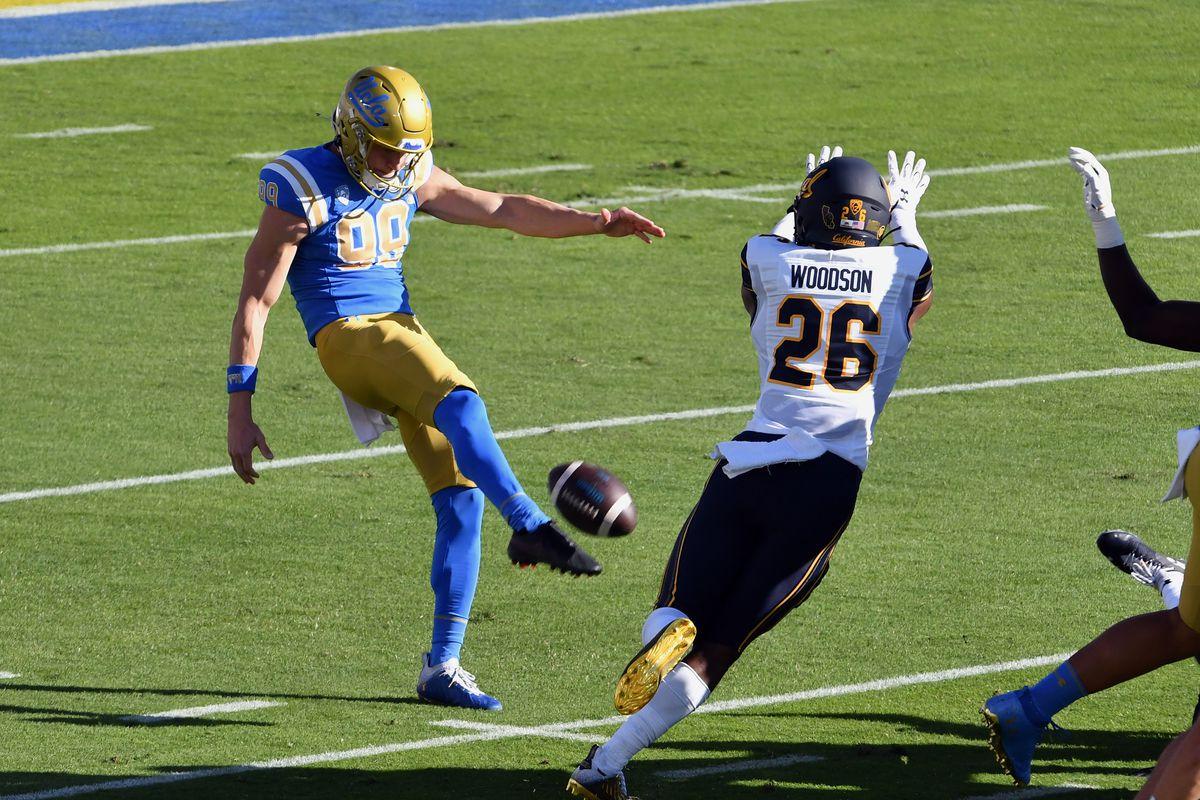 COLLEGE FOOTBALL: NOV 15 CAL at UCLA