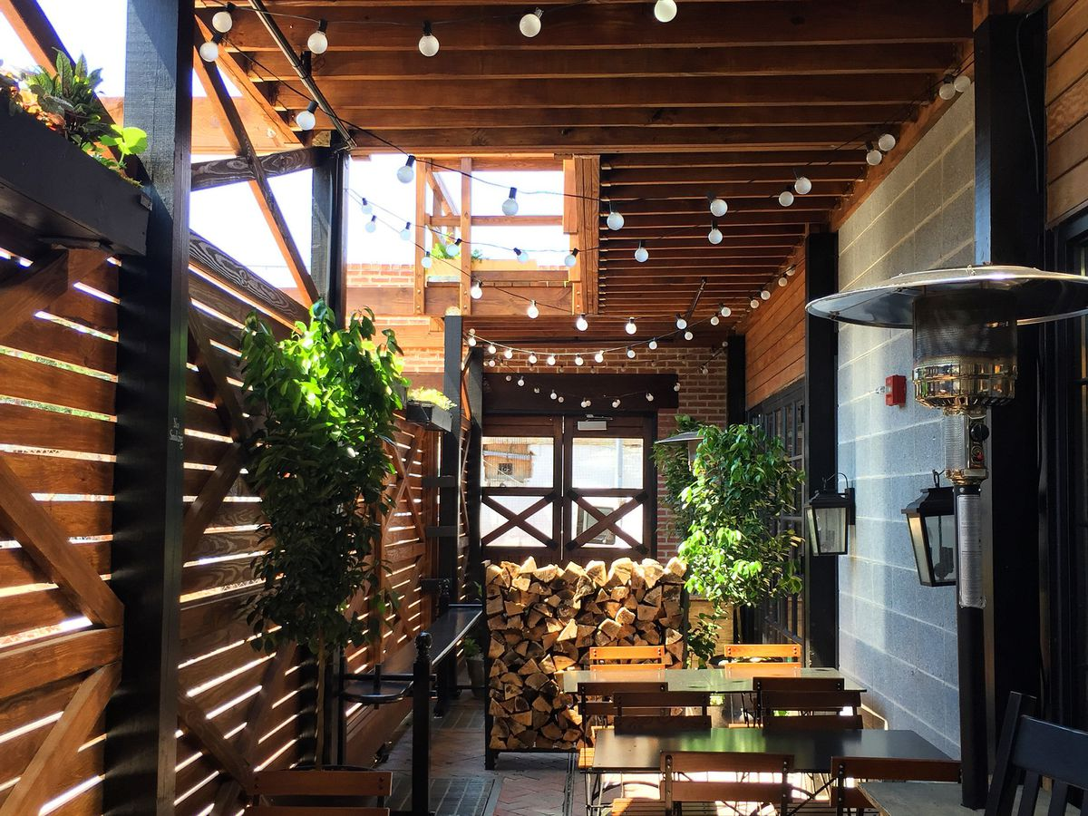 The Dabney patio [Photo: Official]