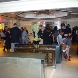 The swank scene at Bergdorf Goodman