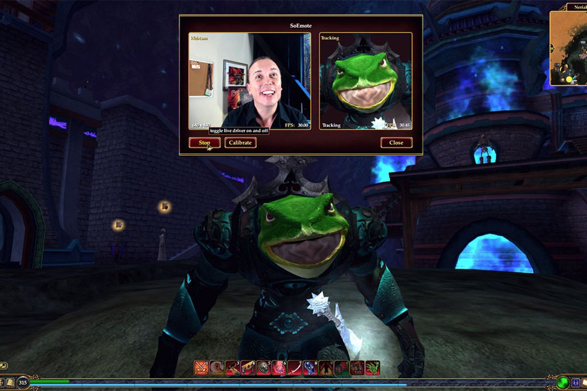 EverQuest 2's new facial recognition tech lets you role-play