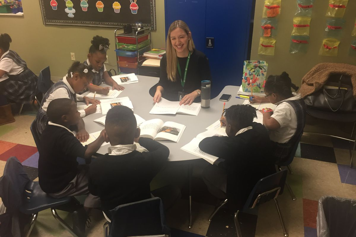 Lauren Jolly teaches first grade at Power Center Academy Elementary School in Hickory Hill. The 2019-20 school year will be her second as a Teach for America-Memphis corps member.