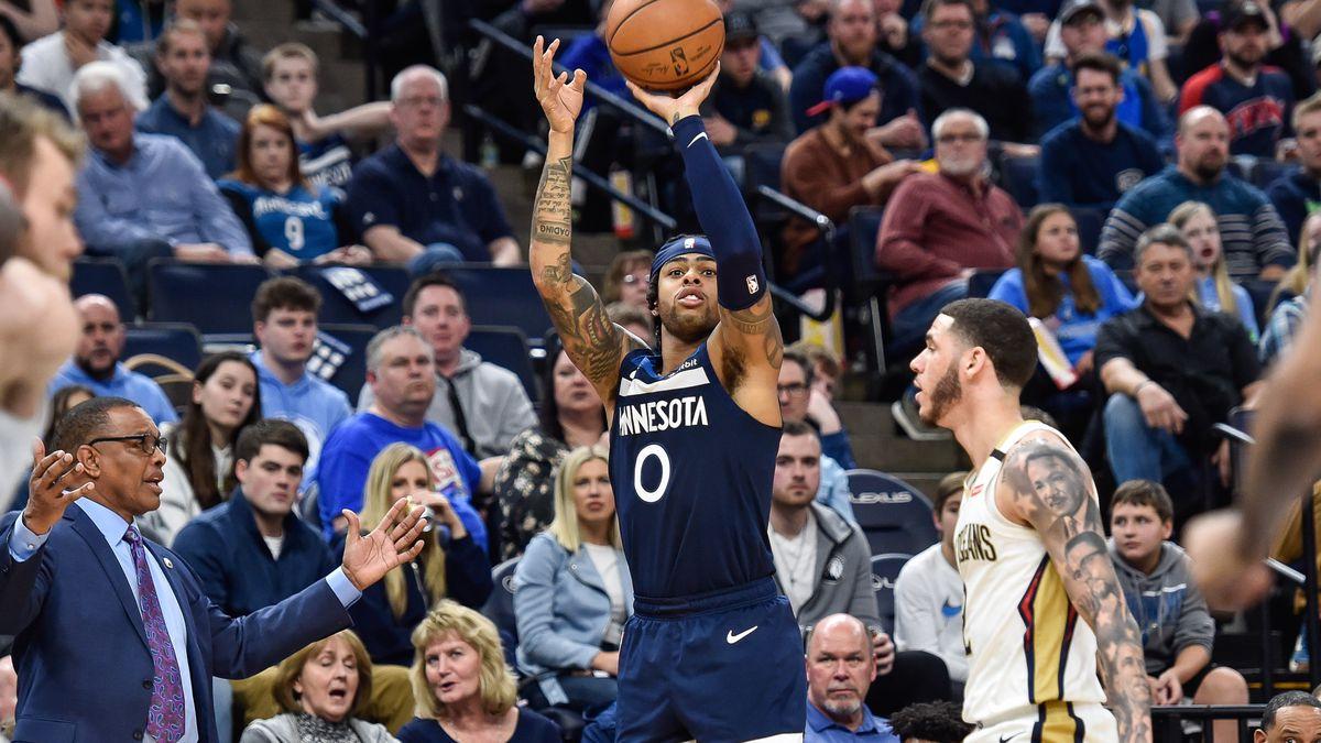NBA: New Orleans Pelicans at Minnesota Timberwolves