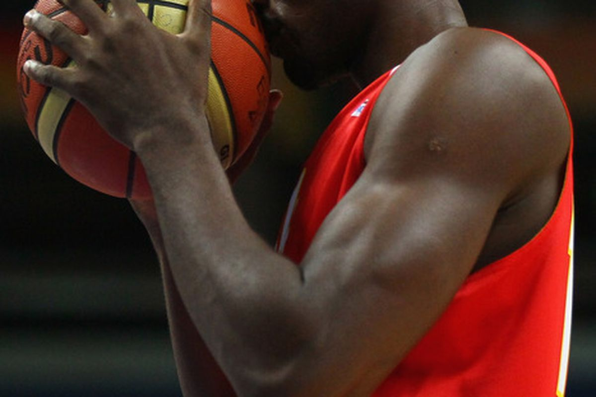 Ibaka is praying to the basketball gods for three more victories.