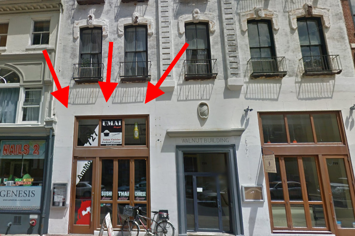 Soon-to-be location of Six Feet Under - 727 Walnut Street
