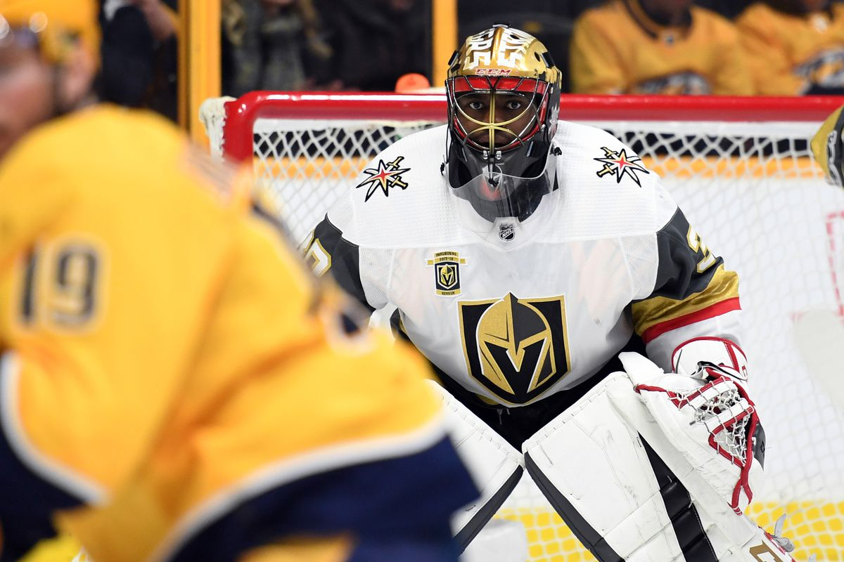 Malcolm Subban Guides Golden Knights To 4 3 Shootout Victory Over
