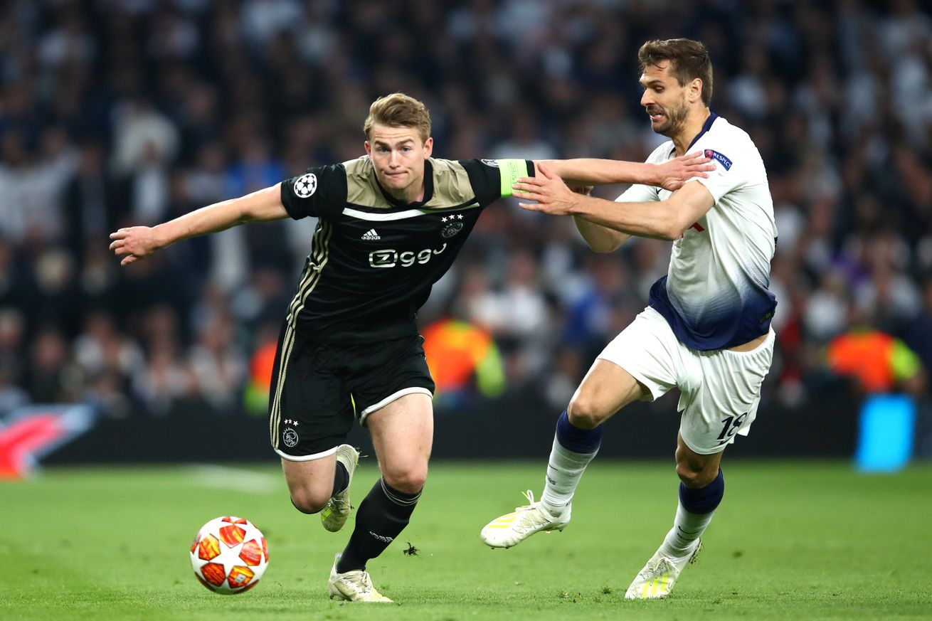 Report: Barcelona losing ground to Bayern Munich, Juventus in race for Matthijs de Ligt