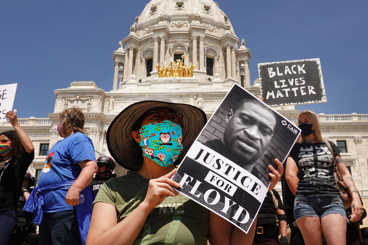 Protests Continue In St. Paul Over Death Of George Floyd