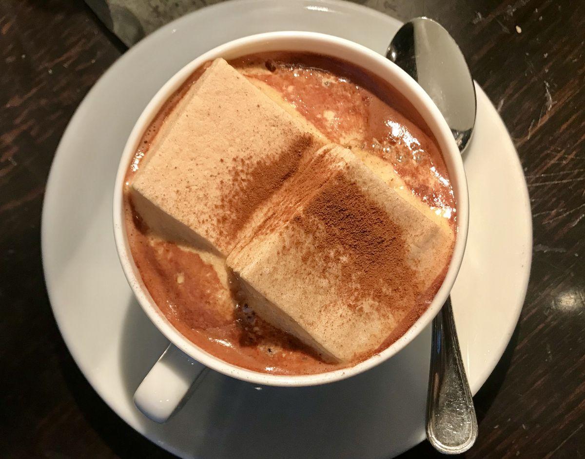 Gramercy Tavern's hot chocolate